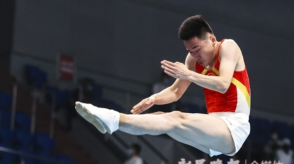 坚持,为了跳得更高!上海蹦床名将高磊的故事