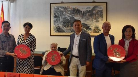 捷克侨界举办迎接北京冬奥会线上座谈会