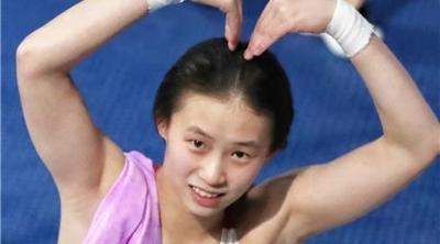恭喜!上海选手陈芋汐夺得全运会双人10米跳台冠军