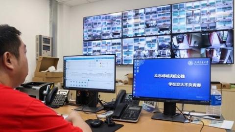 """上海交通大学""""智慧迎新""""开启秋季新学期"""