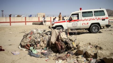 """他们生逢""""9·11"""",死于喀布尔"""