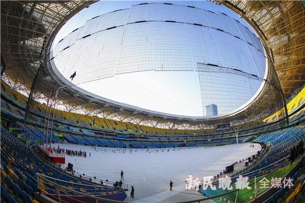 全运会开幕式将在西安奥体中心内举行-李铭珅.JPG
