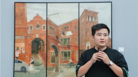 """中秋小长假,在宝山民博馆听艺术家现场解读""""空间中的图像"""""""