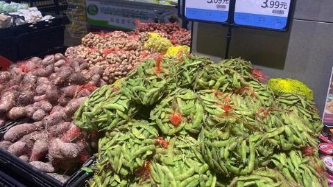 中秋佳节到,芋艿、毛豆、鸭子热销