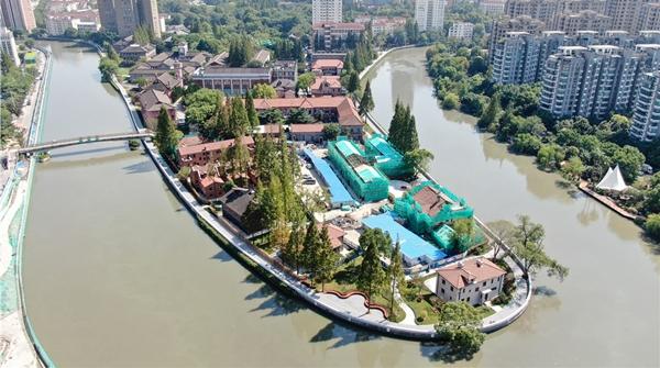苏州河步道华政段今起开放,去邂逅那些红砖灰瓦的百年建筑吧