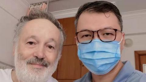 """糟糕,骨折!以色列老人在上海公利医院度过""""别样中秋"""""""
