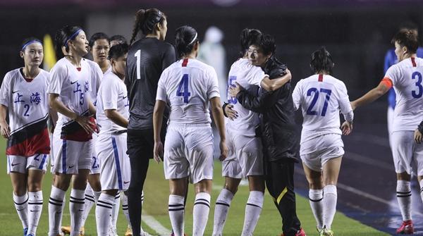水庆霞赛后谈是否会接任中国女足:希望能担起这份责任