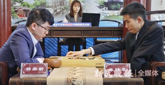 杨鼎新在同里杯中国围棋天元杯第二轮中犯了类似顾子浩的错误-新闻-全球IC交易开始锦标赛决赛在这里-ICEach.com